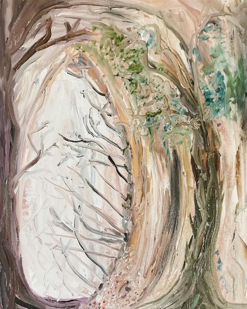 Beauty, Eye, Beholder—Oil on Canvas.