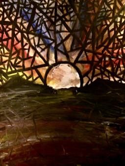 """Broken—Oil on Canvas. 16"""" x 20""""."""
