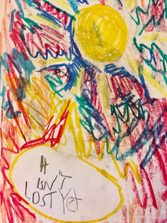 "Innocence—Pastel on Paper. 16"" x 20""."
