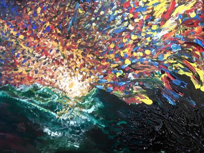 "Returning Innocence—Acrylic on Canvas. 18""x 24"""