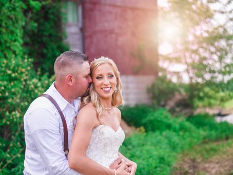 A Bloomfield Farm Wedding - Rochester, NY Photographer: Ellie & Shannon