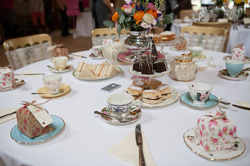 Afternoon Tea for Two Gift Voucher