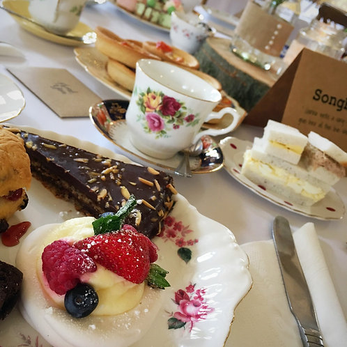 Fizzy Afternoon Tea for Two Gift Voucher