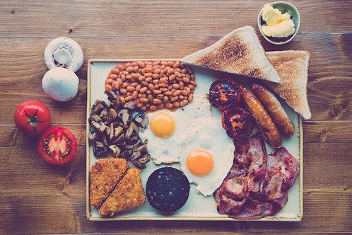 Yorkshire Breakfast for Two Gift Voucher