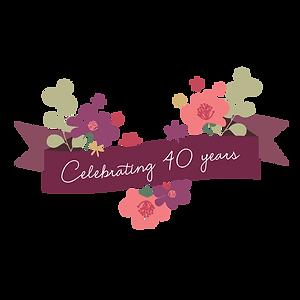 celebrating 40 years flower ribbon-01.pn