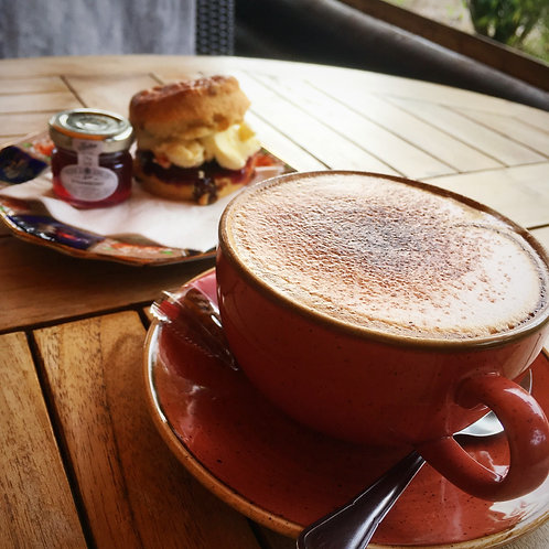 Coffee & Scone for Two Gift Voucher