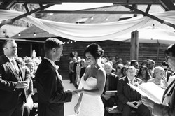 Outdoor ceremony in the court yard