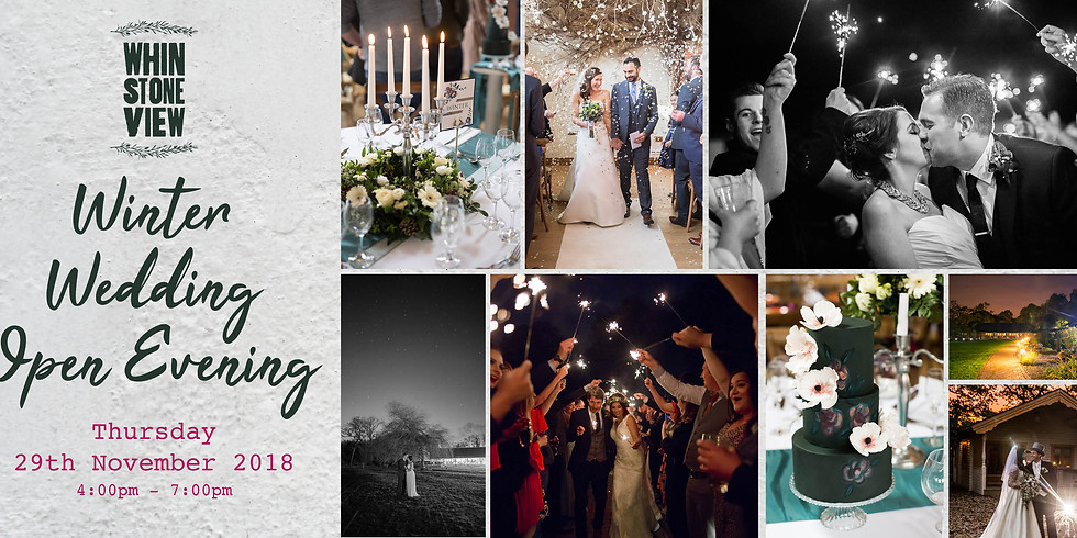 Whinstone View Winter Wedding Opening Evening