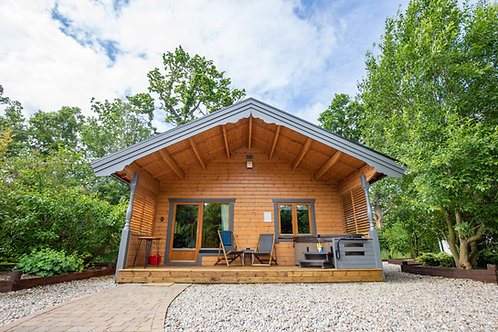 Weekend Log Cabin Stay for 2