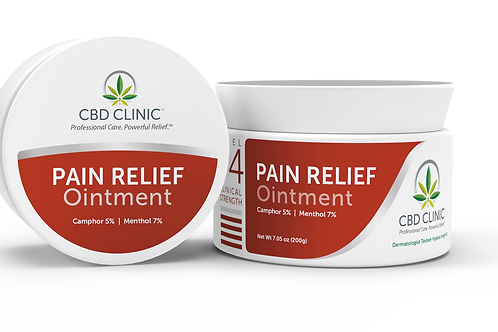 CBD Clinic Pain Relief Ointment – LEVEL 4