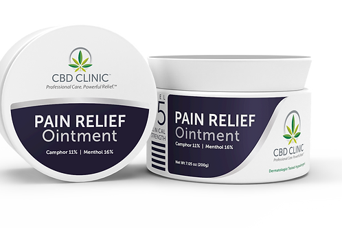 CBD Clinic Pain Relief Ointment - LEVEL 5