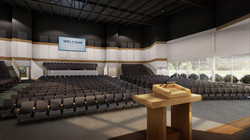 Worship Center - Stage View