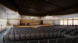 Worship Center - Stage Wide