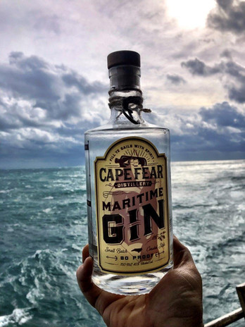 Only Maritime Gin at Frying Pan Tower