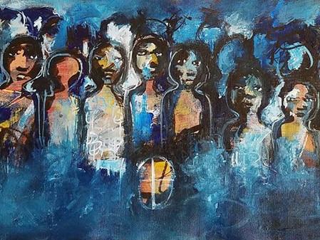 EXPOSITION DE CASZI B, artiste burkinabé