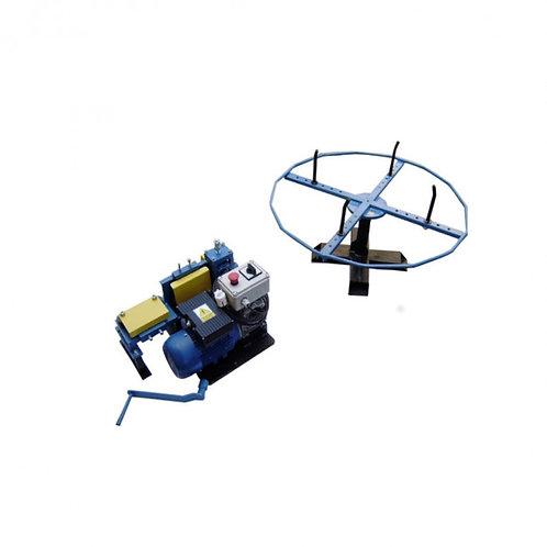 Derulator electric pentru conductor rotund