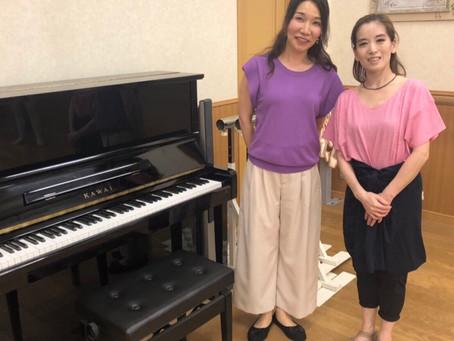 ピアニストの先生🎹