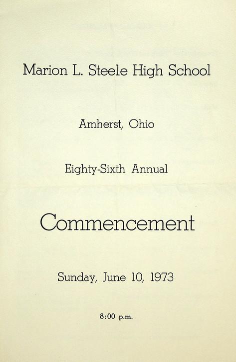 MLS Commencement: 1973