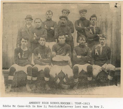 AHS Soccer: 1913