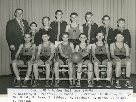 Junior High School Basketball: 1950