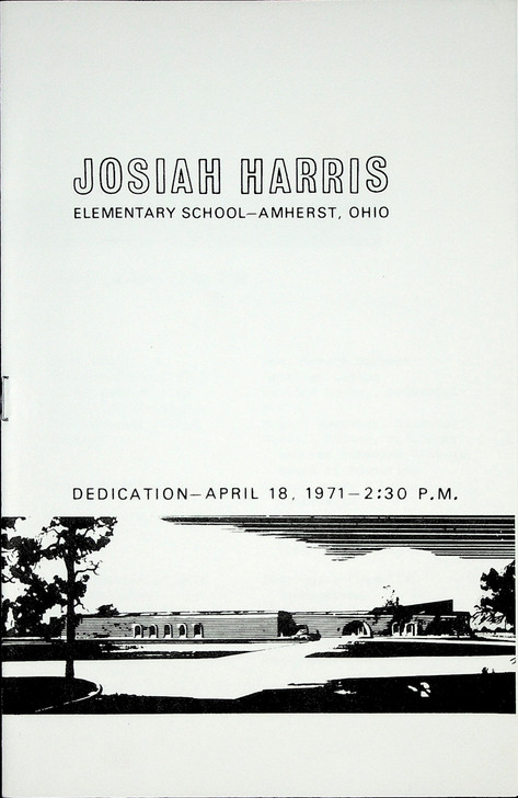 Josiah Harris Elementary School Dedication