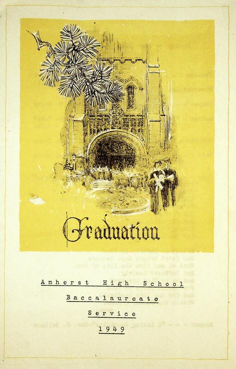 AHS Baccalaureate: 1949