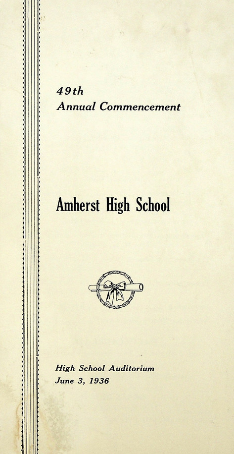 AHS Commencement: 1936