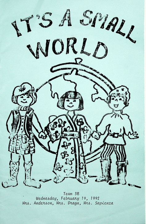 It's a Small World: 1992