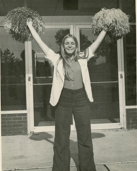 MLS Cheerleader, c. 1970s