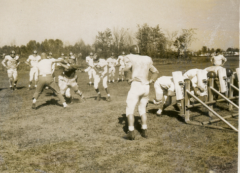 Football Practice: Year unknown