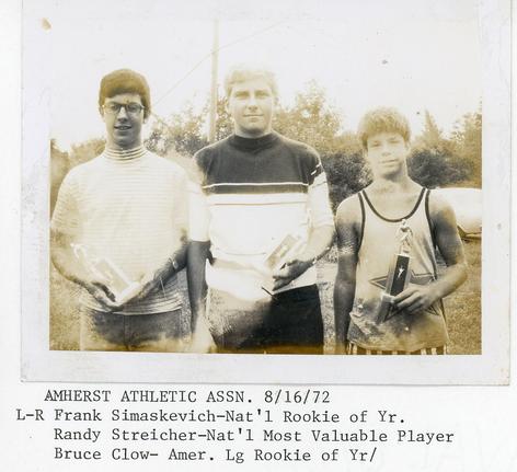 Amherst Athletic Association: 1972