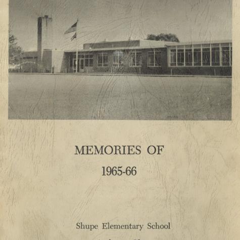 Shupe: 1965-66