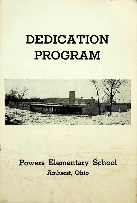 Powers Elementary School Dedication - 1953