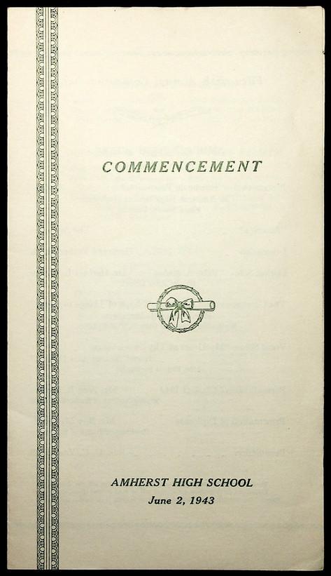 AHS Commencement: 1943