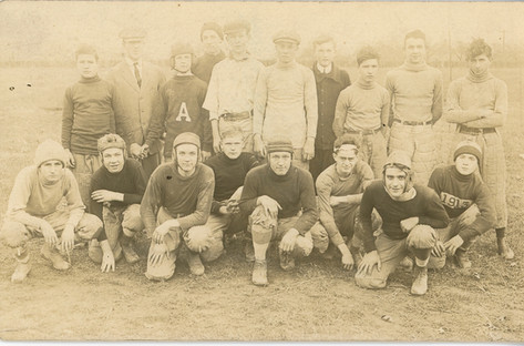 AHS Football: 1913