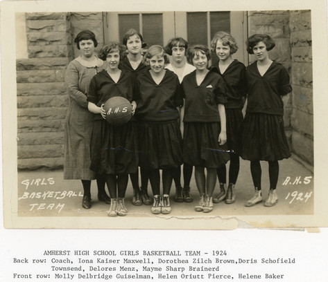 AHS Girls Basketball: 1924
