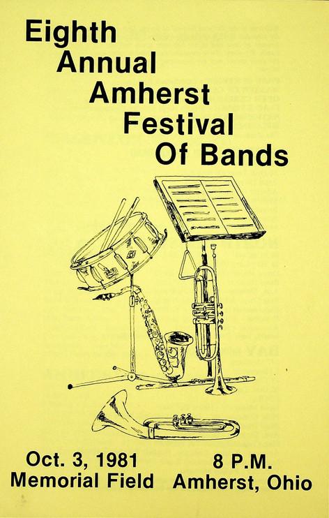 MLS Festival of Bands: 1981
