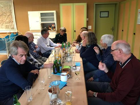 Mitgliederhöck Verein proTOGGENBURG