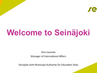 Welcome to Seinäjoki
