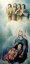 Refka & Her Five Children. Martyrs