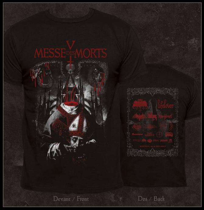 Messe des Morts t-shirt