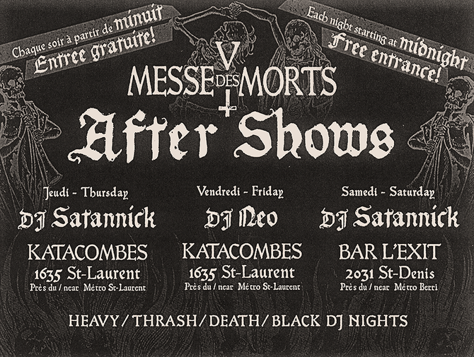 Afters Shows - DJ Nights