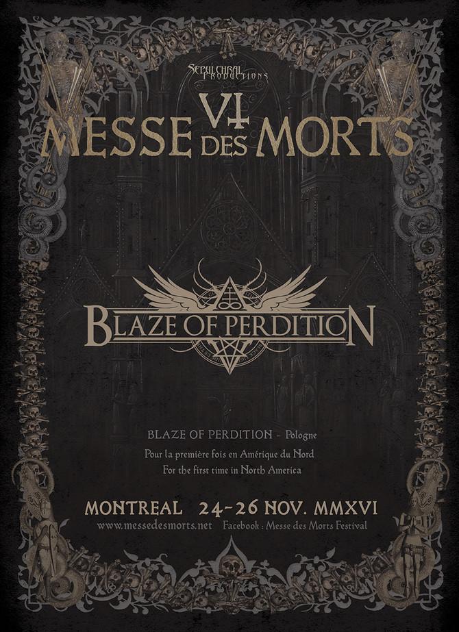 MESSE DES MORT VI – Blaze of Perdition