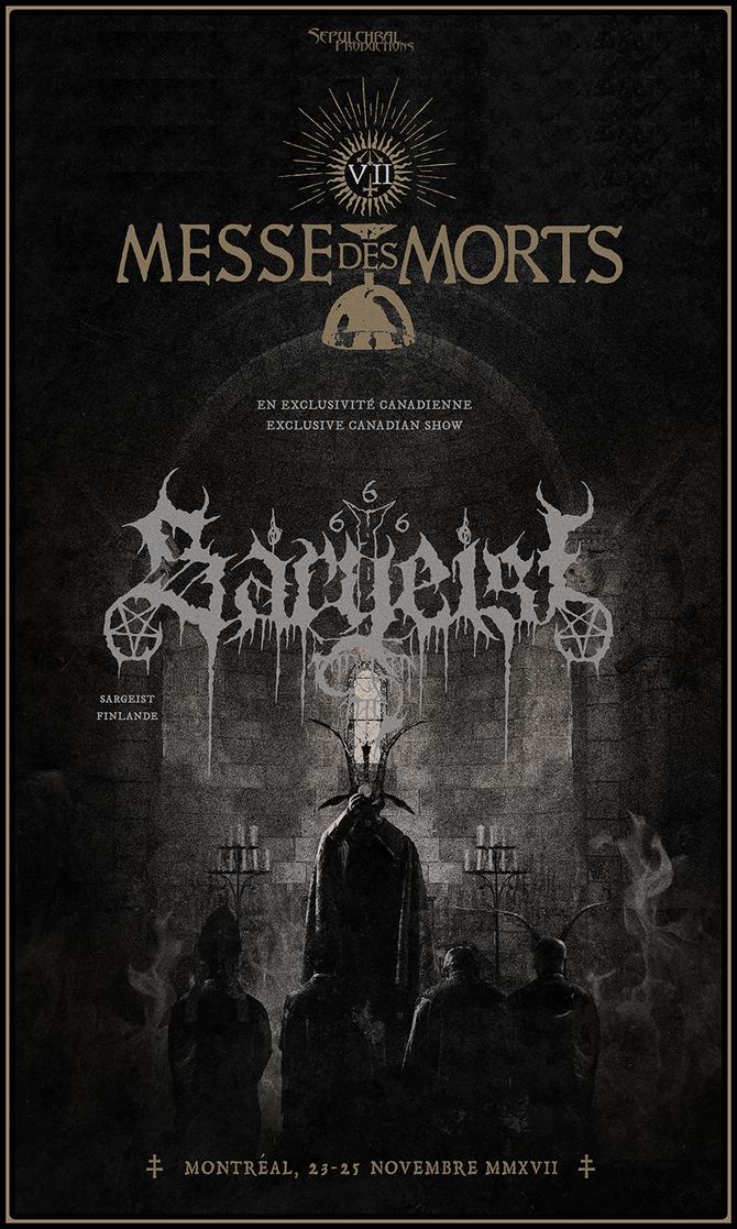 MESSE DES MORTS VII – SARGEIST