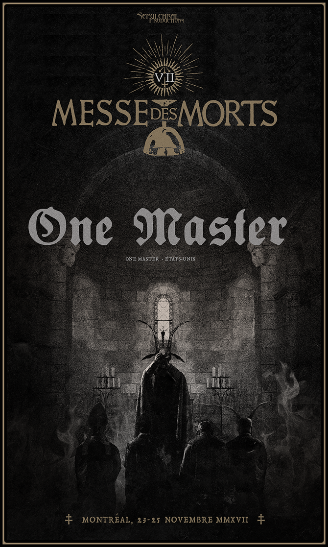 MESSE DES MORTS VII – ONE MASTER