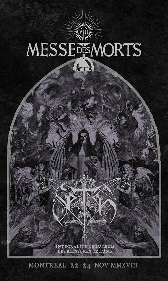 MESSE DES MORTS VIII – SETH LES BLESSURES DE L'ÂME