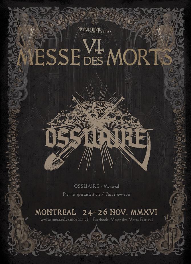 MESSE DES MORTS VI - Ossuaire