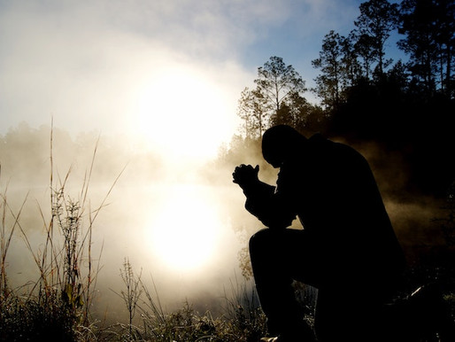 Kneeling to Pray