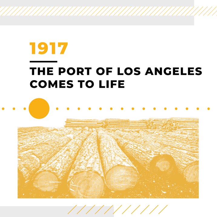 The Port of Los Angeles Comes to Life