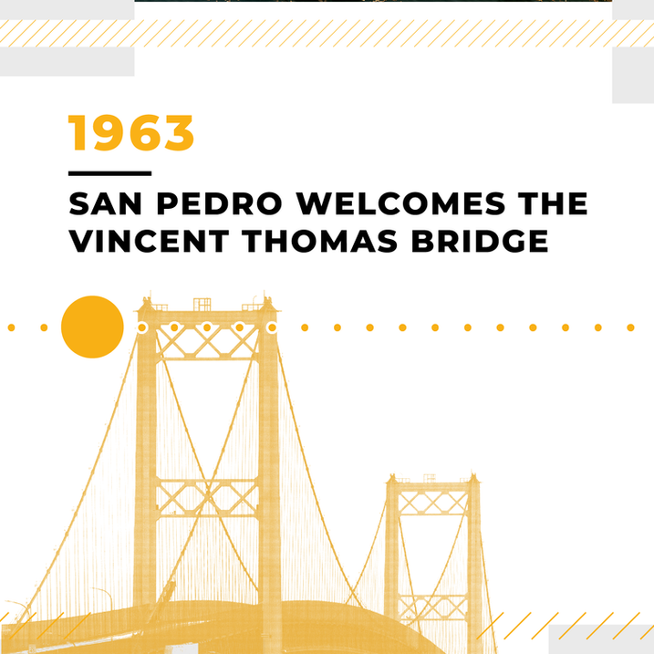 San Pedro Welcomes the Vincent Thomas Bridge